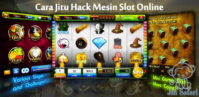 Cara Jitu Hack Mesin Slot Online