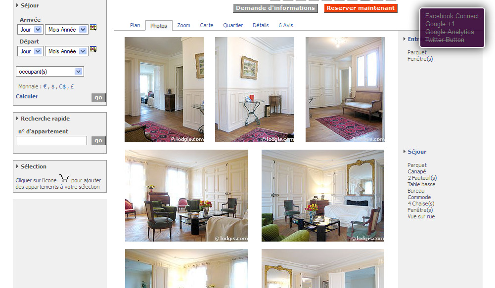 Alias - Location appartement paris 4 chambres ...