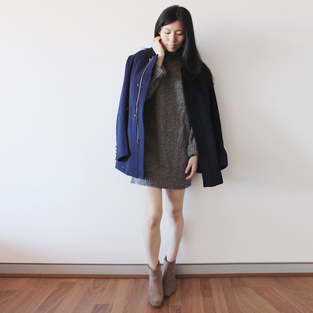 Camel Coat Gamiss haul review, gamiss blog review, gamiss coat review, cadet blue coat, coat blue outfit, masculine outfit girls, knit dress outfit girls, gamiss trustworthy, gamiss style blog, gamiss safe