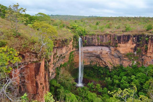 chapada dos guimaraes - cachoeira veu de noiva