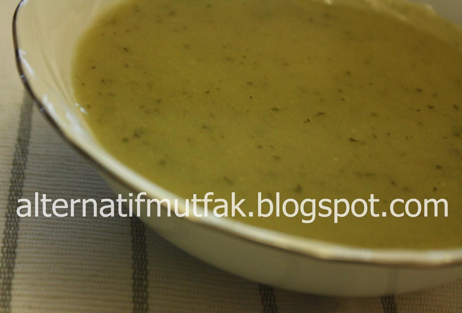 Naneli Bezelye çorbası