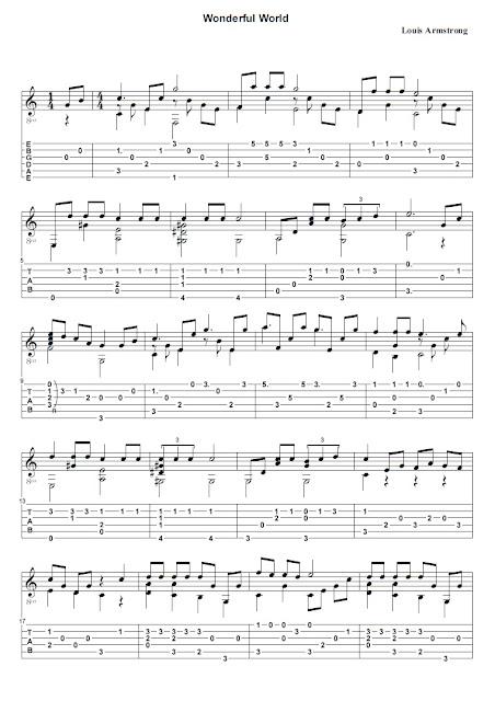 Louis Armstrong - Wonderful World