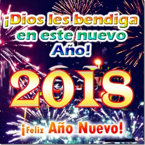 feliz 2018 imágenes frases cristianas