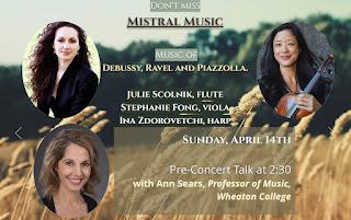 LiveARTS: Mistral Music Concert on April 14