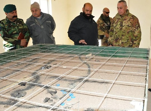 TAAC West advisors discuss operations with ANDSF