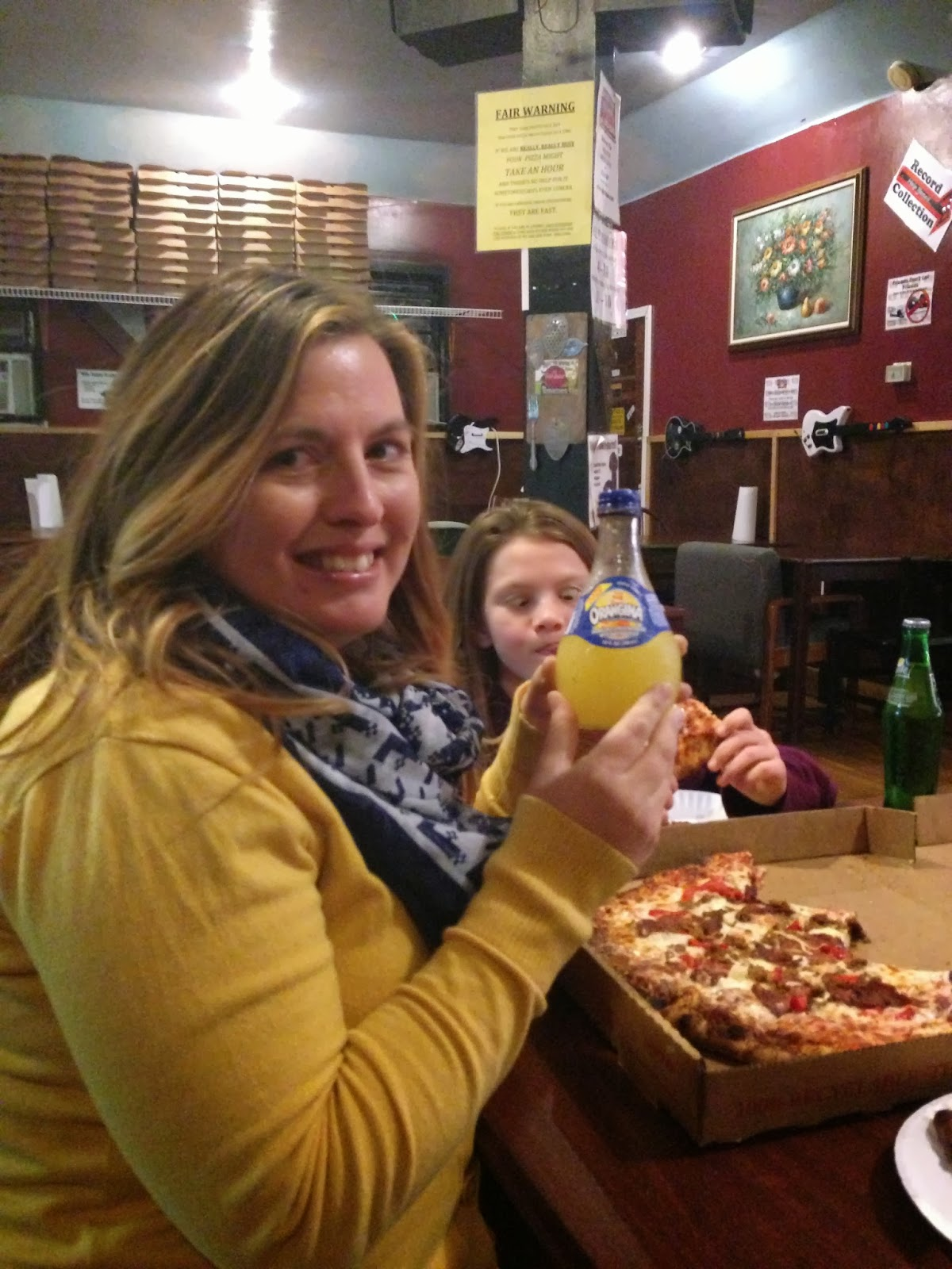 scratch, pizza place, johnson city tennessee, woman smiling