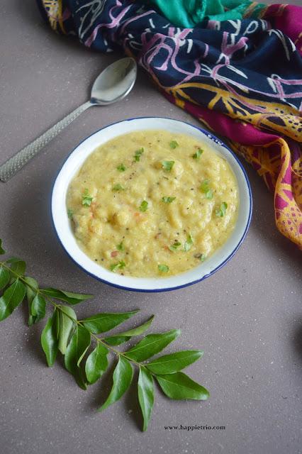 Moong Dal Tadka Recipe | Moong Dal Coconut Gravy