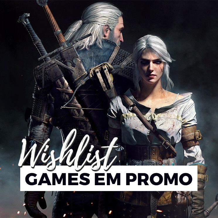 wishlist de games em promoção da steam
