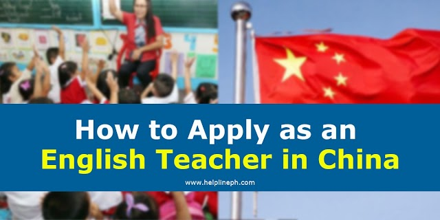 How to Apply as an English Teacher in China