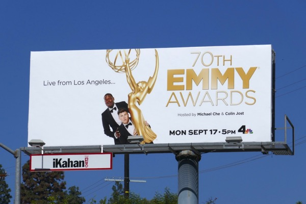 70th Emmy Awards billboard