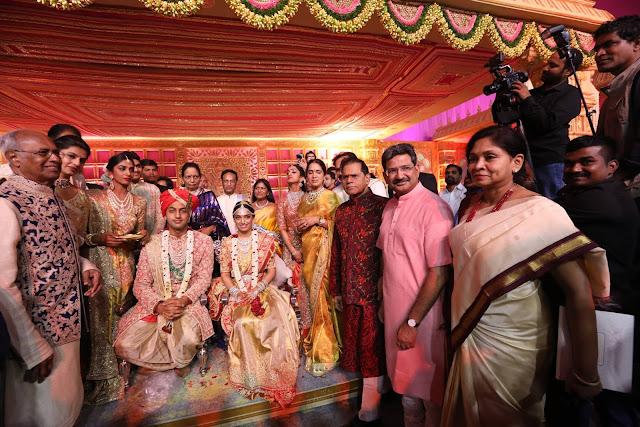 T.subbarami reddy grandson keshav wedding Photos
