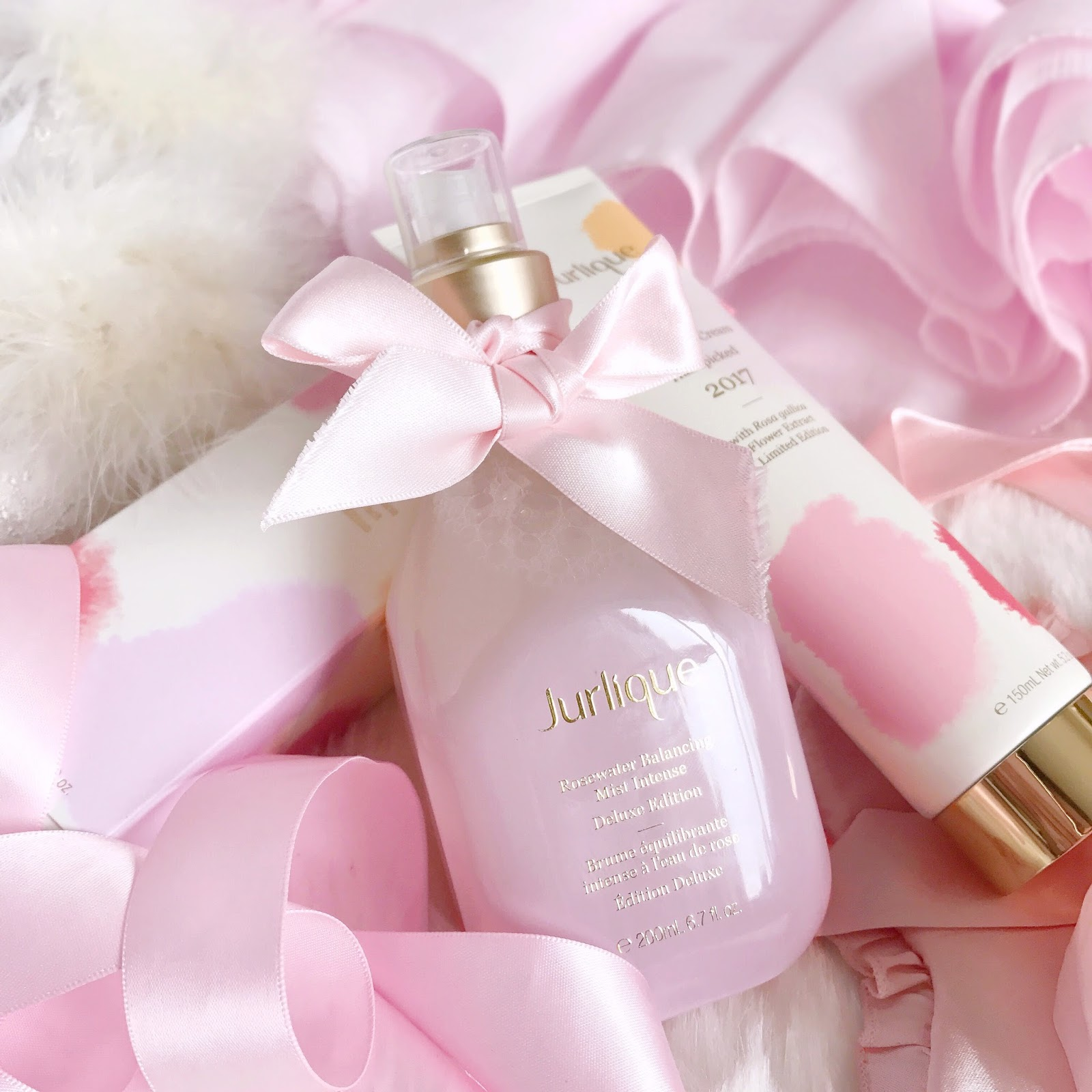Jurlique Limited Edition Rosewater Balancing Mist & Rose Hand Cream 2017