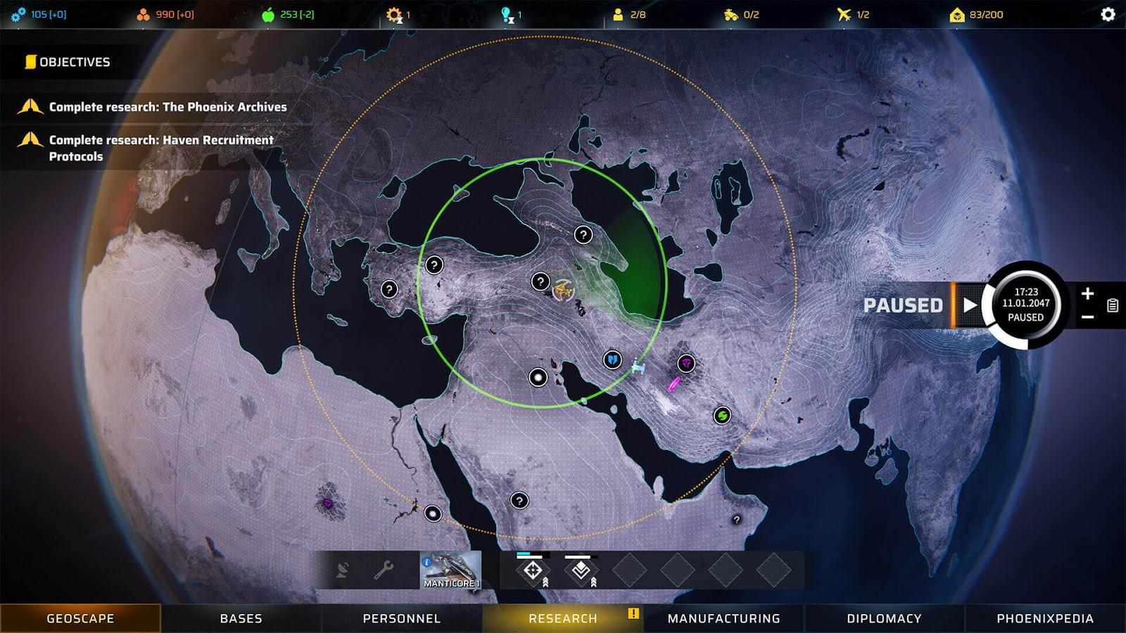 Phoenix Point Screenshot 1