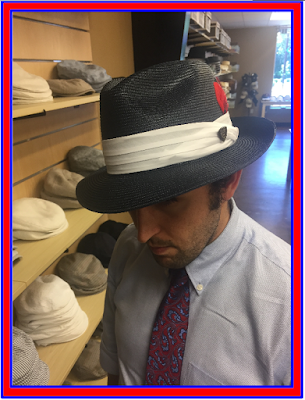 hat shopping, 4th of July
