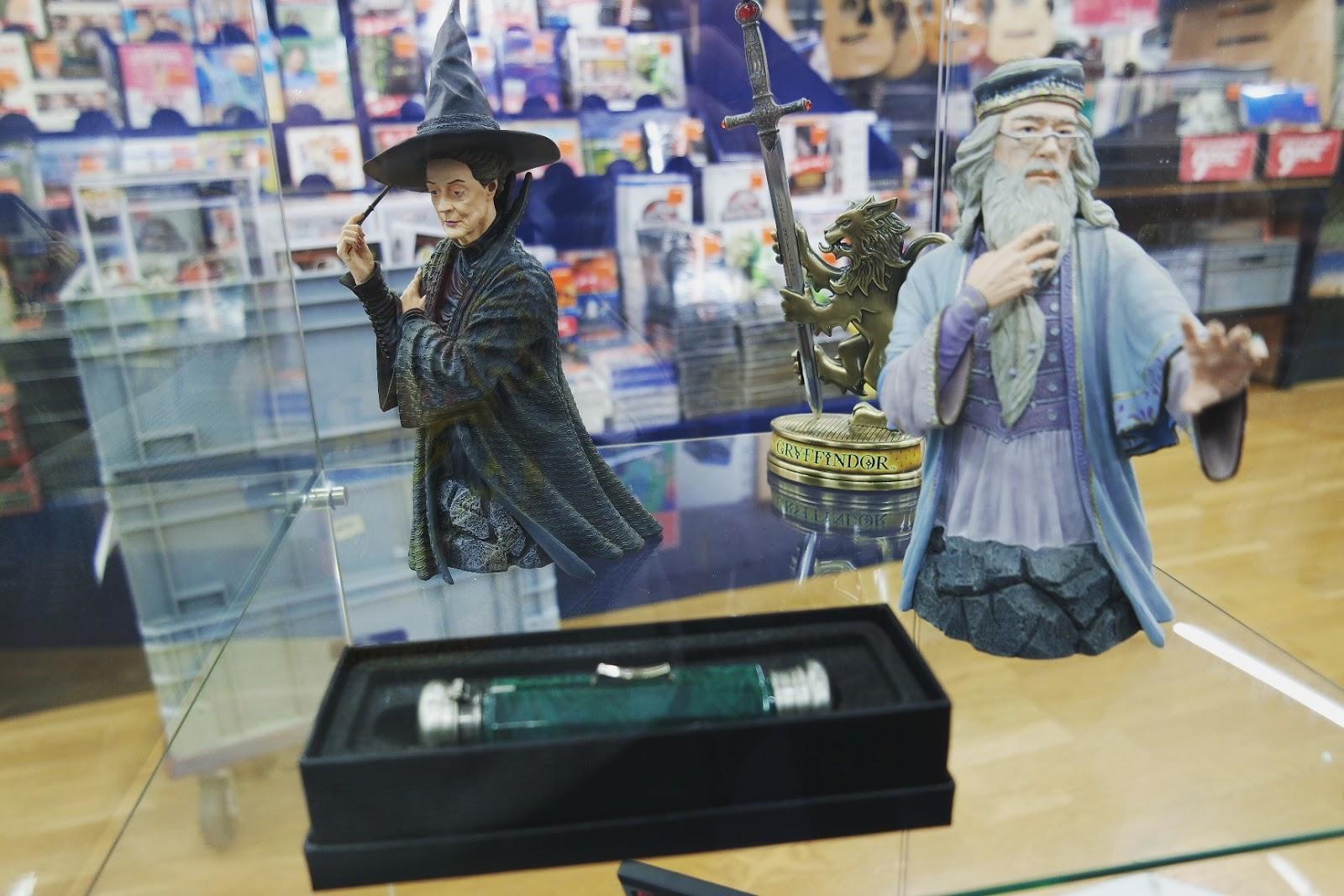 Harry Potter Look Event Dumbledore Cultura Blog Coin des licornes littéraire lifestyle Toulouse