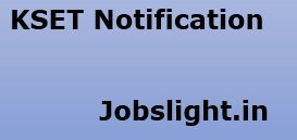 KSET Notification