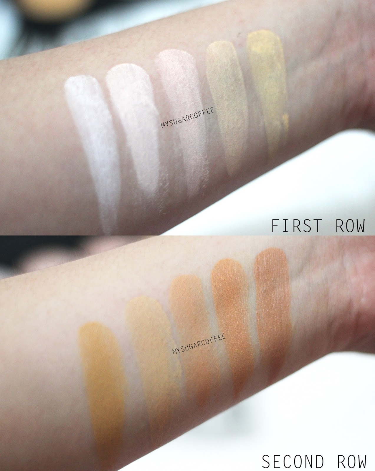 My Sugarcoffee Review Bh Cosmetics Foundation And Concealer 10 Color Palette 1