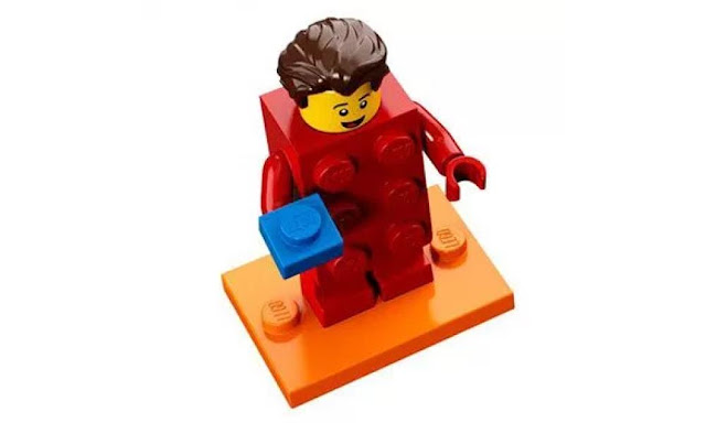 Lego Collectible Minifigures Series 18: Red Brick Character