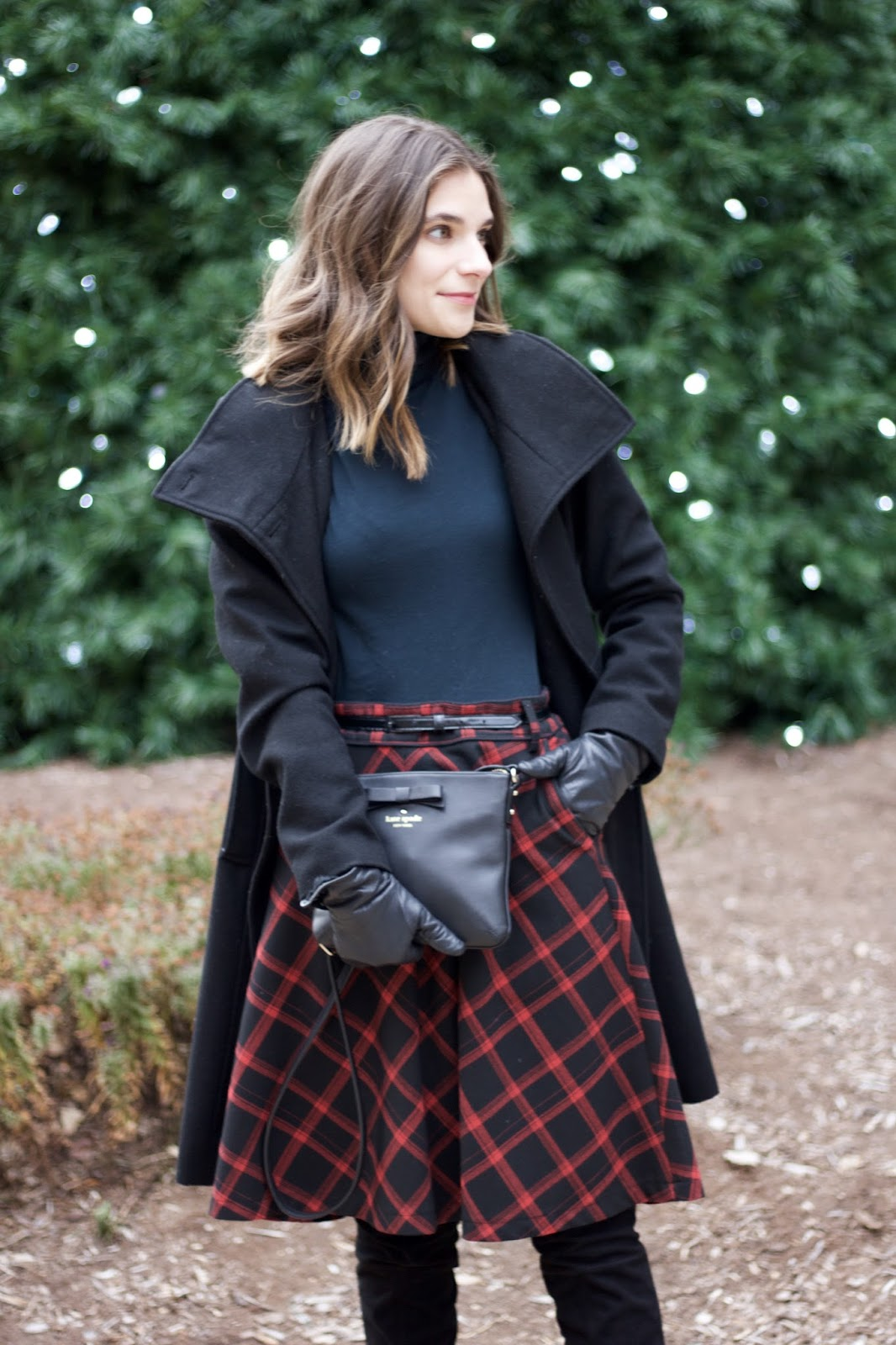 Urban Outfitters Buffalo Check Skirt