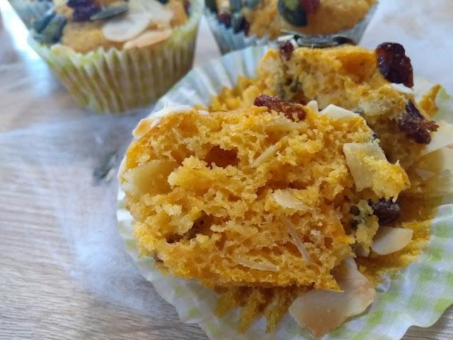 Muffins au butternut