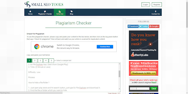 how-to-check-plagiarisms-uniqueness-using-small-seo-tools-cure