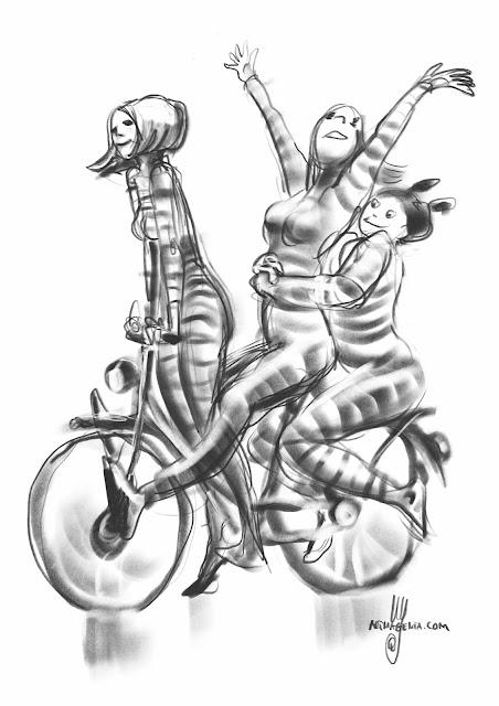 Gesture drawings by Artmagenta