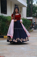 Actress Aathmika in lovely Maraoon Choli ¬  Exclusive Celebrities galleries 063.jpg