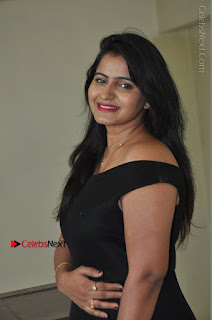 Telugu Actress Swathi Reddy Latest Stills in Black Gown  0039.JPG