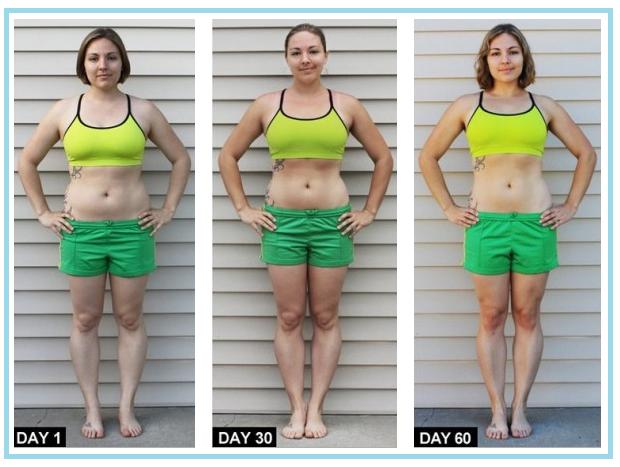 Результаты Похудения 90 Дней.