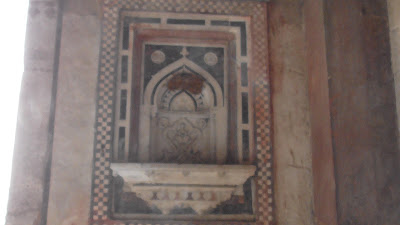 Art Work Old Fort Delhi India 933