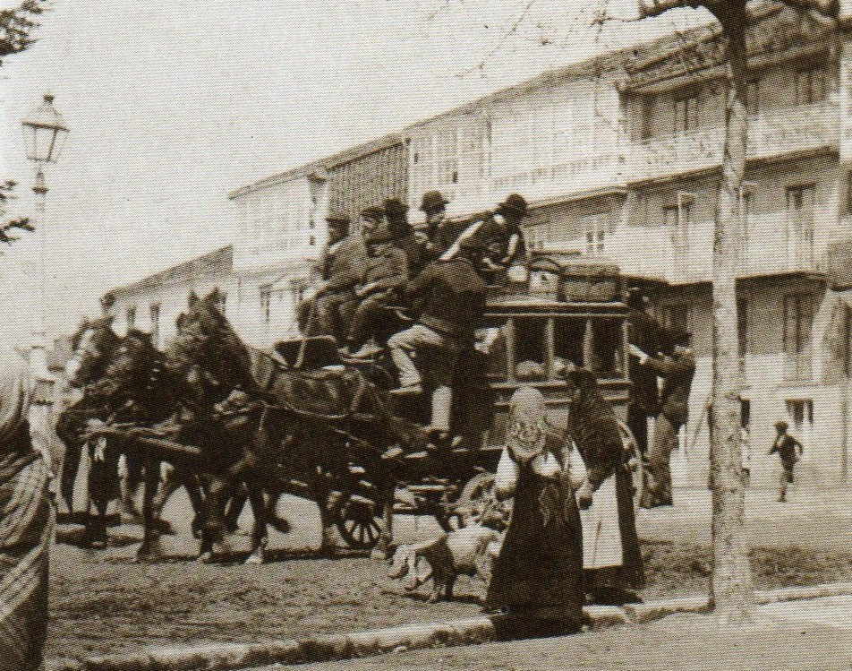 Fotos antiguas de santiago de compostela for Oficina correos santiago de compostela