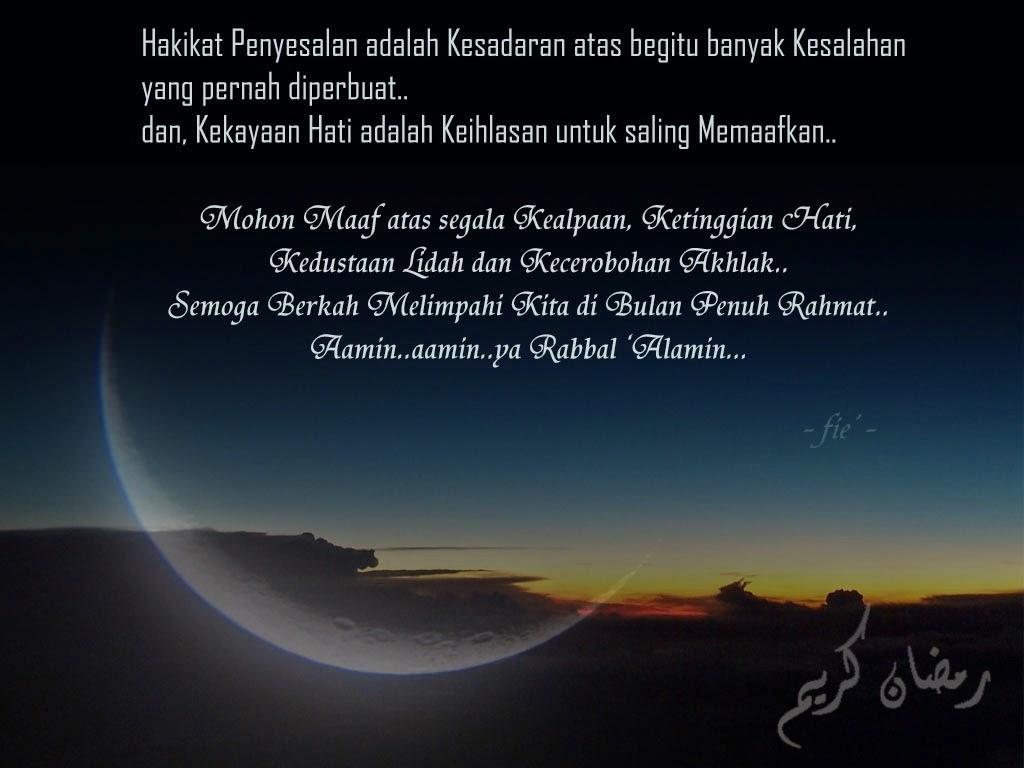 30+ Kata Kata Maaf Menjelang Ramadhan Ideas   Kata Mutiara ...