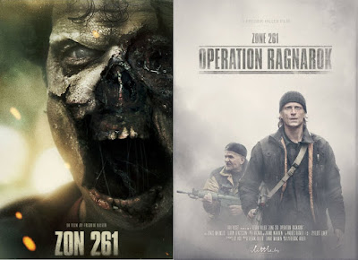 Zone 261: Operation Ragnarök (locandine a confronto)