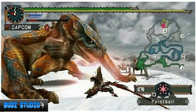 Monster Hunter Freedom Unite PPSSPP PSP 4