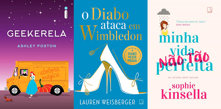 Livros: Top lançamentos literários de junho e julho - drama, amor e chick-lits