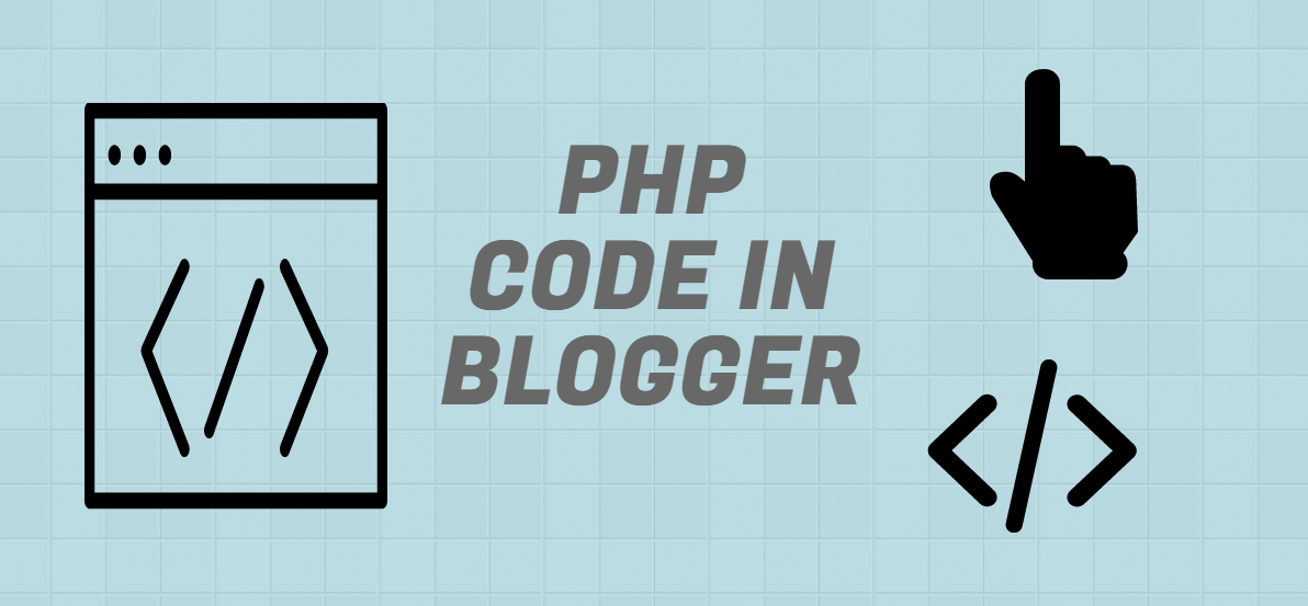 php code in blogger