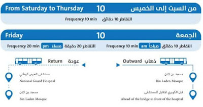 ROUTE 10 OF JEDDAH LOCAL BUS SERVICE