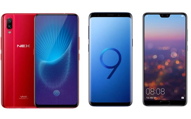 NEX S vs. Galaxy S9 Plus vs. P20 Pro: Which One Better