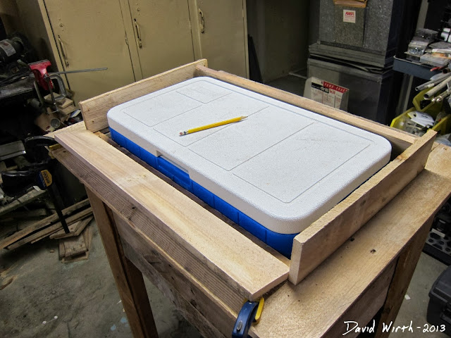 building a lid for my cooler stand