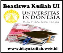 Beasiswa Kuliah UI 2017/2018 (Universitas Indonesia)