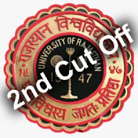 Rajasthan University Second Cut Off for Arts Commerce Science