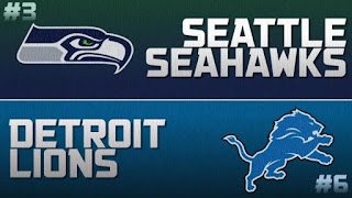 NFL Wild Card Seahawks Lions
