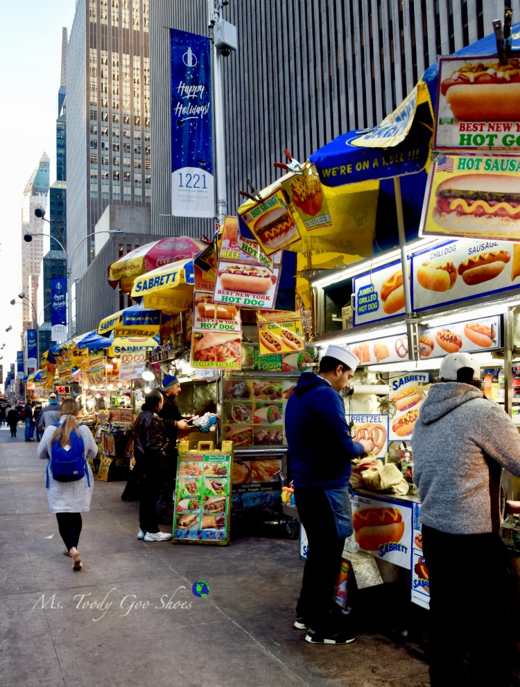 Street Food- One of  50 Places To Eat Near Tiimes Square - From Cheap To Chic! | Ms. Toody Goo Shoes