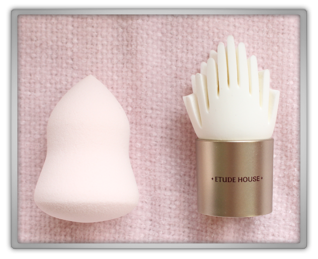 Etude House My Beauty Tool Brush Collection makeup brushes haul review beauty blogger blog kore face Soft Cream Puff secret skin finger