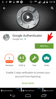 download Google Authenticator di android