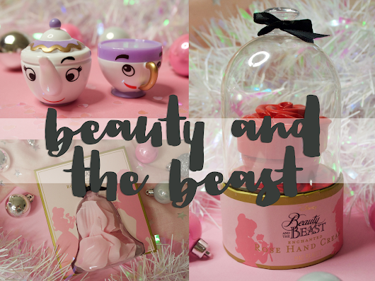 Beauty and the Beast beauty stocking fillers