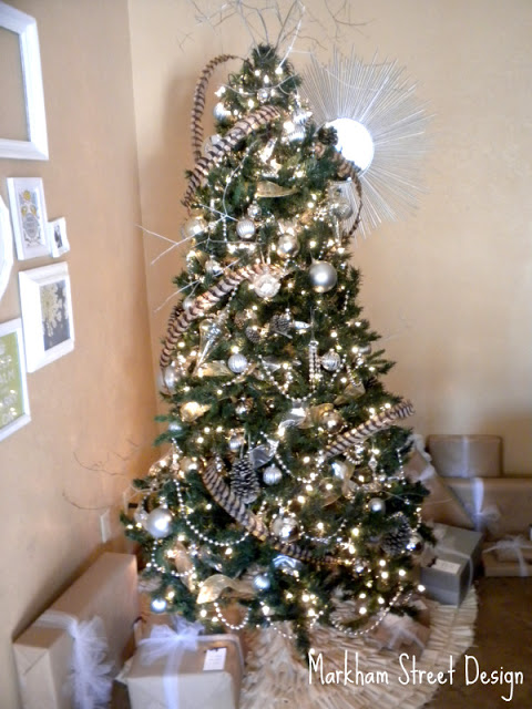 Laura Orr Interiors Rustic Glam Christmas Tree