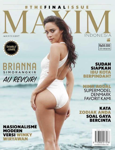Download Majalah MAXIM Indonesia Edisi Agustus 2017 PDF Brianna Simorangkir, Nina Agdal, Jesssica Gomes | www.insight-zone.com