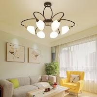 đèn trang trí phòng khách chung cư
