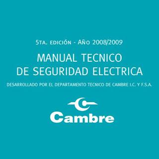 manual tecnico de seguridad electrica cambre